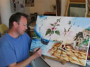 Frédéric Fouilloux artiste peintre à Vesoul