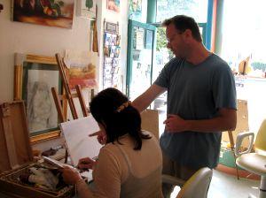 Cours de peinture et modelage à Vesoul